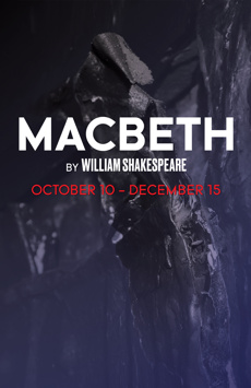 Macbeth, Classic Stage Company, NYC Show Poster