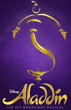 Aladdin, New Amsterdam Theatre, NYC Show Poster
