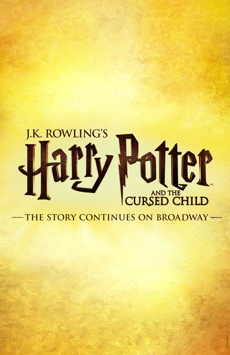 Harry Potter and the Cursed Child, Lyric Theatre, NYC Show Poster
