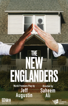 The New Englanders, Manhattan Theatre Club Stage II, NYC Show Poster