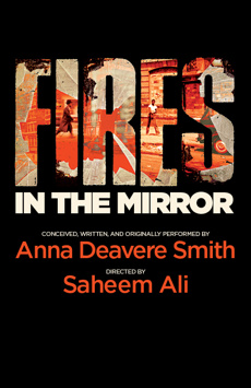 Fires in the Mirror, Romulus Linney Courtyard Theatre at The Signature Center, NYC Show Poster