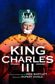 King Charles III, Music Box Theatre, NYC Show Poster