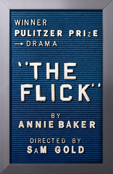 The Flick, Barrow Street Theatre, NYC Show Poster