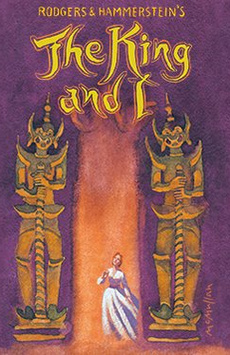 The King and I,, NYC Show Poster