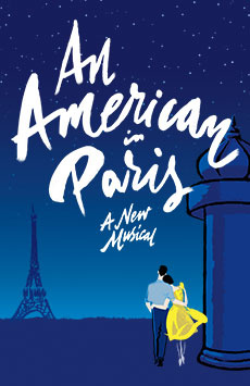 An American in Paris, Palace Theatre, NYC Show Poster