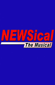 Newsical The Musical, Theatre Two at Theatre Row, NYC Show Poster