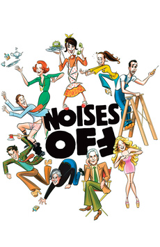 Noises Off, American Airlines Theatre, NYC Show Poster