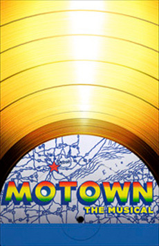 Motown The Musical, Lunt-Fontanne Theatre, NYC Show Poster