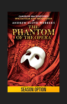 The Phantom of the Opera,, NYC Show Poster