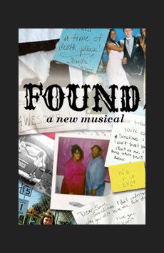 Found, Atlantic Theater Company, NYC Show Poster