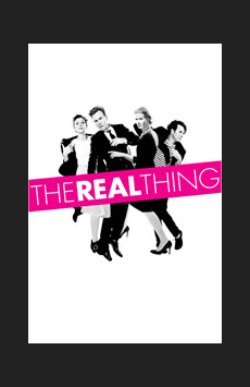 The Real Thing, American Airlines Theatre, NYC Show Poster