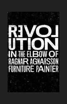 Revolution in the Elbow of Ragnar Agnarsson Furniture Painter, Minetta Lane Theatre, NYC Show Poster