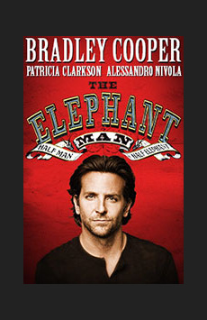 The Elephant Man, Booth Theatre, NYC Show Poster
