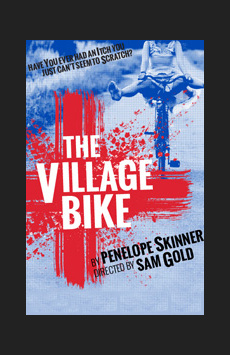 The Village Bike, Lucille Lortel Theatre, NYC Show Poster