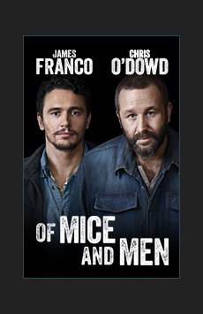 Of Mice and Men, Longacre Theatre, NYC Show Poster