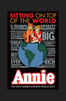 Annie,, NYC Show Poster