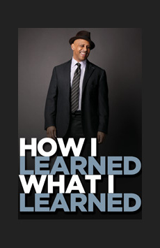 How I Learned What I Learned, The Griffin Jewel Box Theatre at the Signature Center, NYC Show Poster