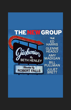 The Jacksonian, Theatre Three at Theatre Row, NYC Show Poster