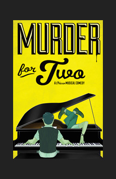 Murder For Two, New World Stages - Stage Five, NYC Show Poster