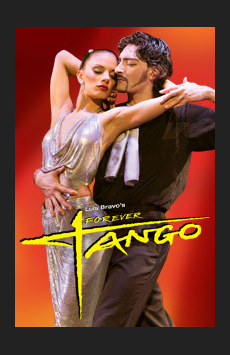 Forever Tango, Walter Kerr Theatre, NYC Show Poster