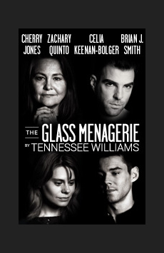 The Glass Menagerie, Booth Theatre, NYC Show Poster