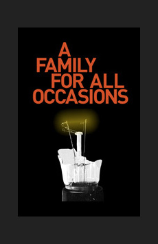 A Family For All Occasions, Bank Street Theatre, NYC Show Poster