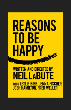 Reasons to Be Happy, Lucille Lortel Theatre, NYC Show Poster
