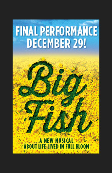 Big Fish, Neil Simon Theatre, NYC Show Poster
