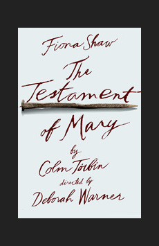 The Testament of Mary, Walter Kerr Theatre, NYC Show Poster