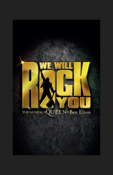 We Will Rock You, Hulu Theater at Madison Square Garden, NYC Show Poster