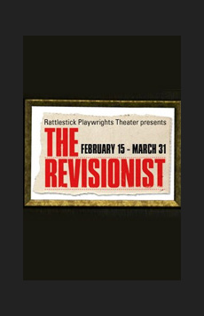 The Revisionist, Cherry Lane Theatre, NYC Show Poster