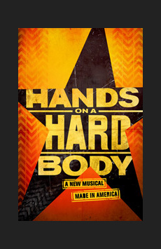 Hands on a Hardbody, Brooks Atkinson Theatre, NYC Show Poster