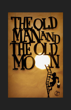 The Old Man and the Old Moon,, NYC Show Poster