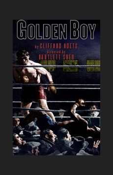 Golden Boy, Belasco Theatre, NYC Show Poster
