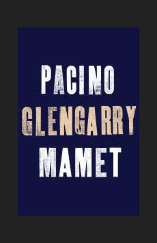 Glengarry Glen Ross, Schoenfeld Theatre, NYC Show Poster