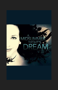 A Midsummer Night's Dream, Classic Stage Company, NYC Show Poster