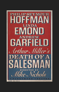Death of a Salesman, Ethel Barrymore Theatre, NYC Show Poster