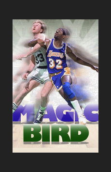 Magic/Bird, Longacre Theatre, NYC Show Poster