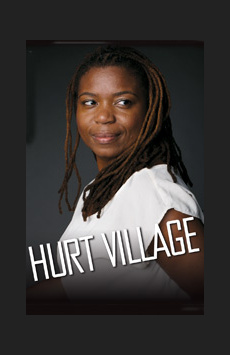 Hurt Village,, NYC Show Poster