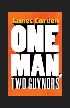 One Man, Two Guvnors, Music Box Theatre, NYC Show Poster