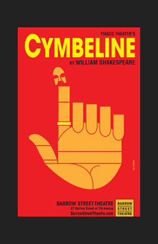 Cymbeline, Greenwich House Theater, NYC Show Poster