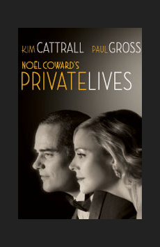 Private Lives, Music Box Theatre, NYC Show Poster