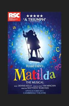 Matilda,, NYC Show Poster