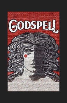 Godspell, Circle In The Square Theatre, NYC Show Poster