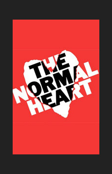The Normal Heart, John Golden Theatre, NYC Show Poster