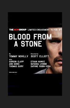 Blood From a Stone, Theatre Three at Theatre Row, NYC Show Poster