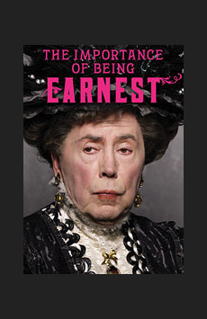 The Importance of Being Earnest,, NYC Show Poster
