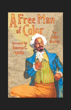 A Free Man of Color, Vivian Beaumont Theater, NYC Show Poster