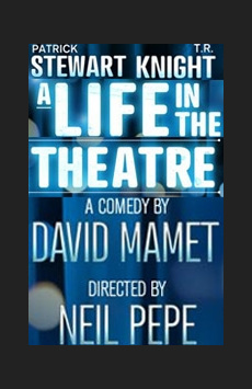 A Life in the Theatre, Schoenfeld Theatre, NYC Show Poster