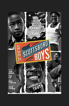 The Scottsboro Boys, Lyceum Theatre, NYC Show Poster